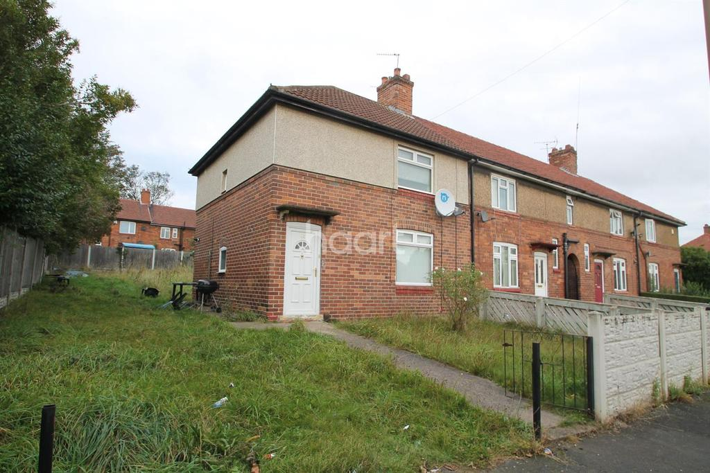 3 Bedrooms End Of Terrace House for sale in Aldam Road, Balby