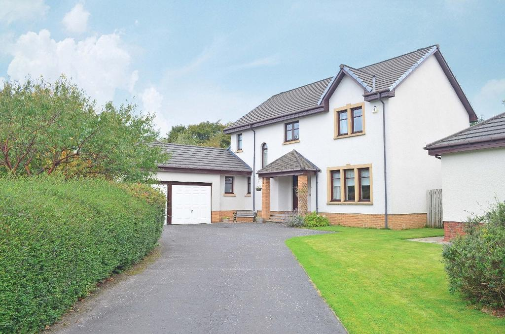 4 Bedrooms Detached House for sale in Golf View, Strathaven, South Lanarkshire, ML10 6AZ