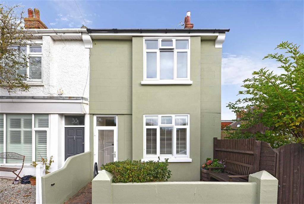3 Bedrooms End Of Terrace House for sale in Bristol Gardens, Brighton