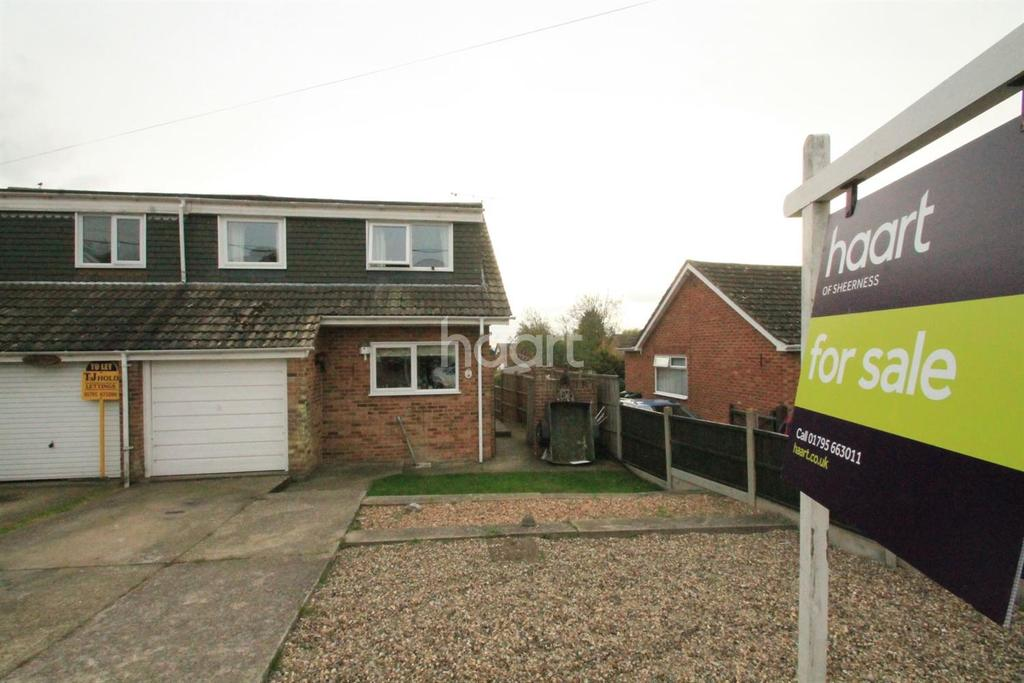 4 Bedrooms Semi Detached House for sale in Nelson Avenue, Minster on Sea