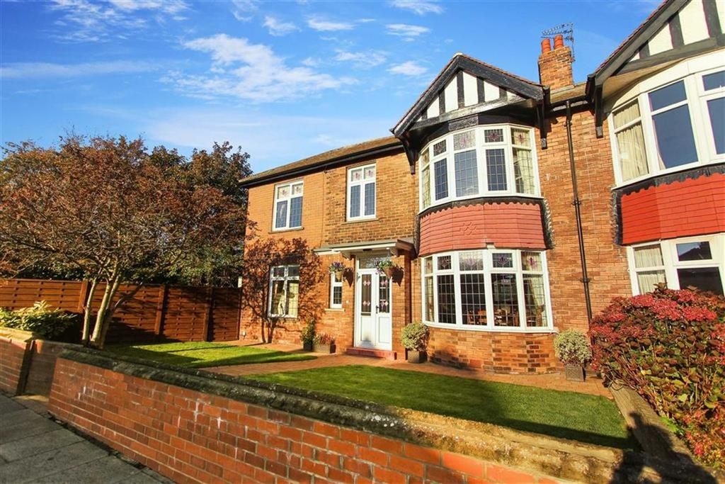 4 Bedrooms Semi Detached House for sale in Percy Park, Tynemouth, Tyne And Wear