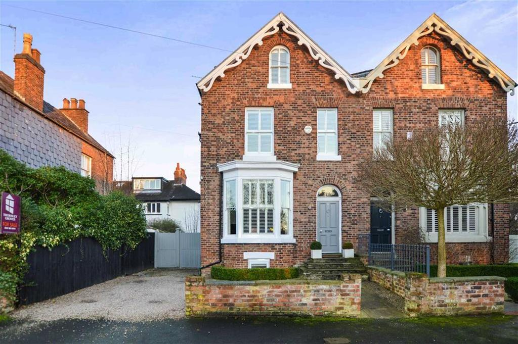 5 Bedrooms Semi Detached House for sale in Peel Avenue, Hale, Cheshire, WA14