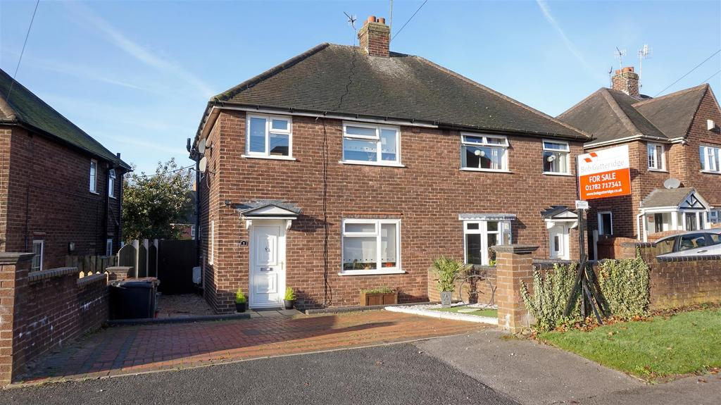 3 Bedrooms Semi Detached House for sale in Machin Crescent, Bradwell, Newcastle