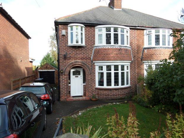 3 Bedrooms Semi Detached House for sale in SNIPERLEY GROVE, DURHAM CITY, DURHAM CITY