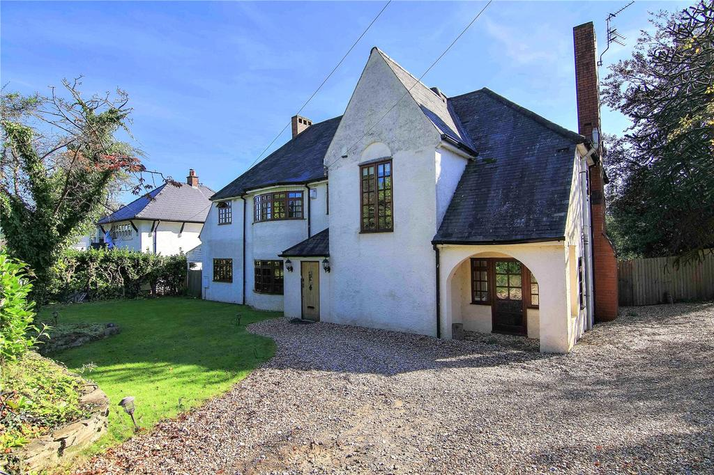 5 Bedrooms Detached House for sale in Mill Road, Lisvane, Cardiff, CF14