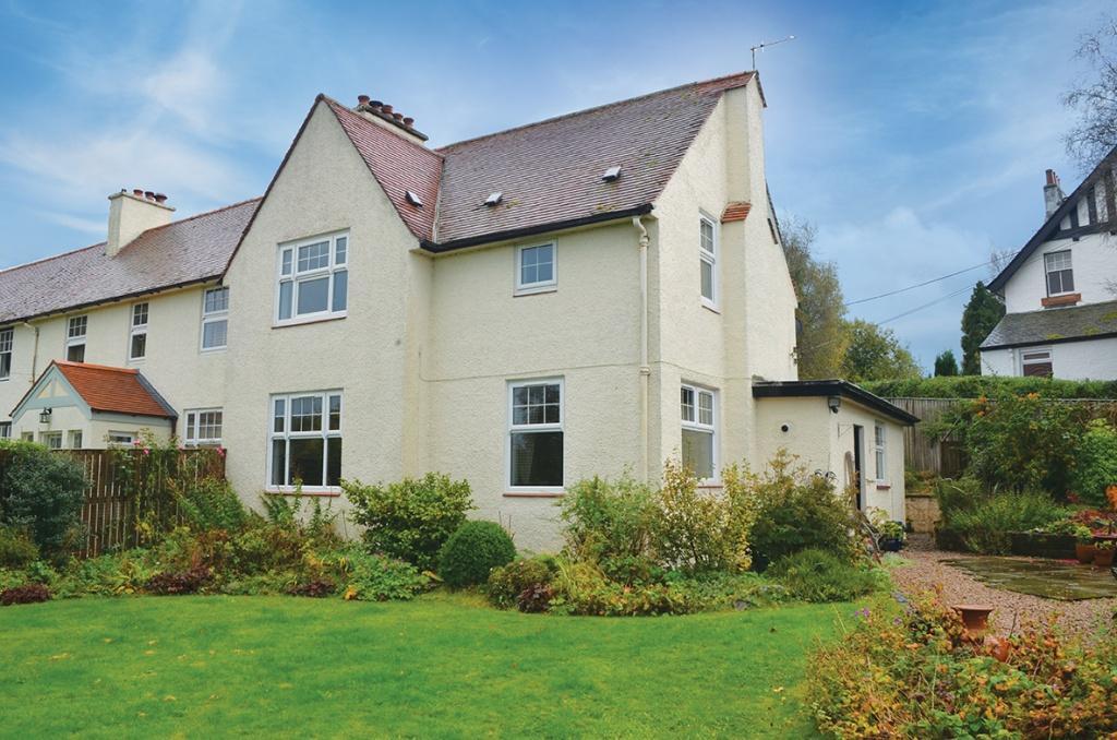 3 Bedrooms End Of Terrace House for sale in Westknowe Broomknowe Road, Kilmacolm, PA13 4HS