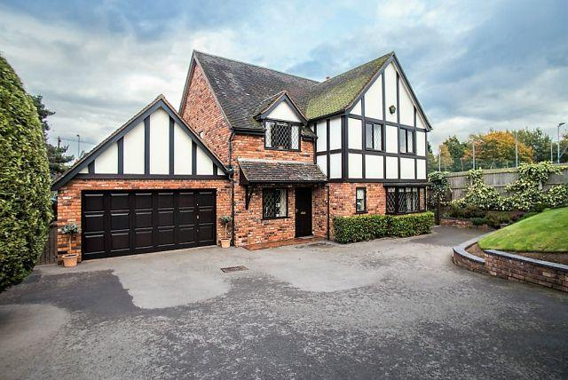 4 Bedrooms Detached House for sale in Pinfold Hill,Shenstone,Staffordshire