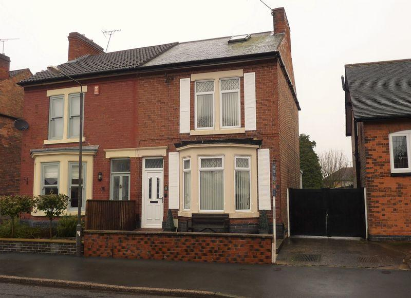 4 Bedrooms Semi Detached House for sale in Manor Road, Borrowash