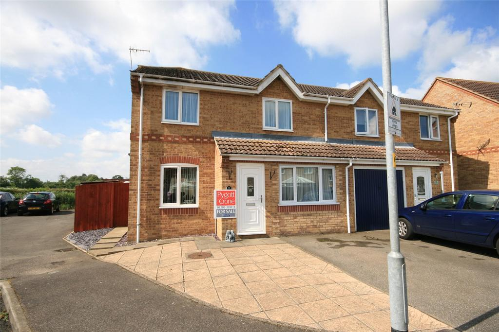 3 Bedrooms Semi Detached House for sale in Bell Court, Boston, PE21