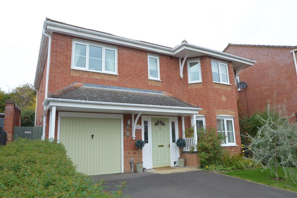 4 Bedrooms Detached House for sale in 21 Grangefields, Shrewsbury, SY3 9DE