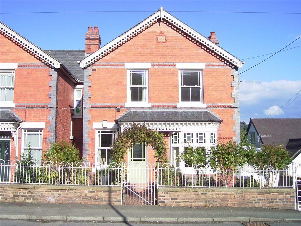 4 Bedrooms Semi Detached House for sale in Gwynfa, High Street, Llanfyllin, Powys, SY22