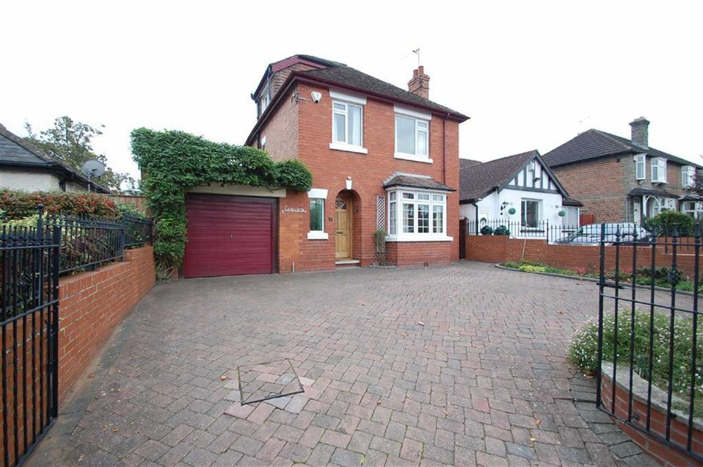 4 Bedrooms Detached House for sale in Longden Road, Shrewsbury