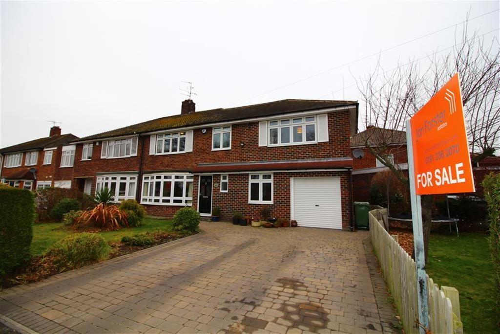4 Bedrooms Semi Detached House for sale in Kingsley Avenue, Newcastle Upon Tyne, NE3
