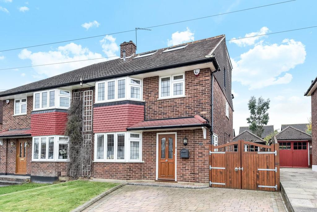4 Bedrooms Semi Detached House for sale in Edgebury, Chislehurst, BR7