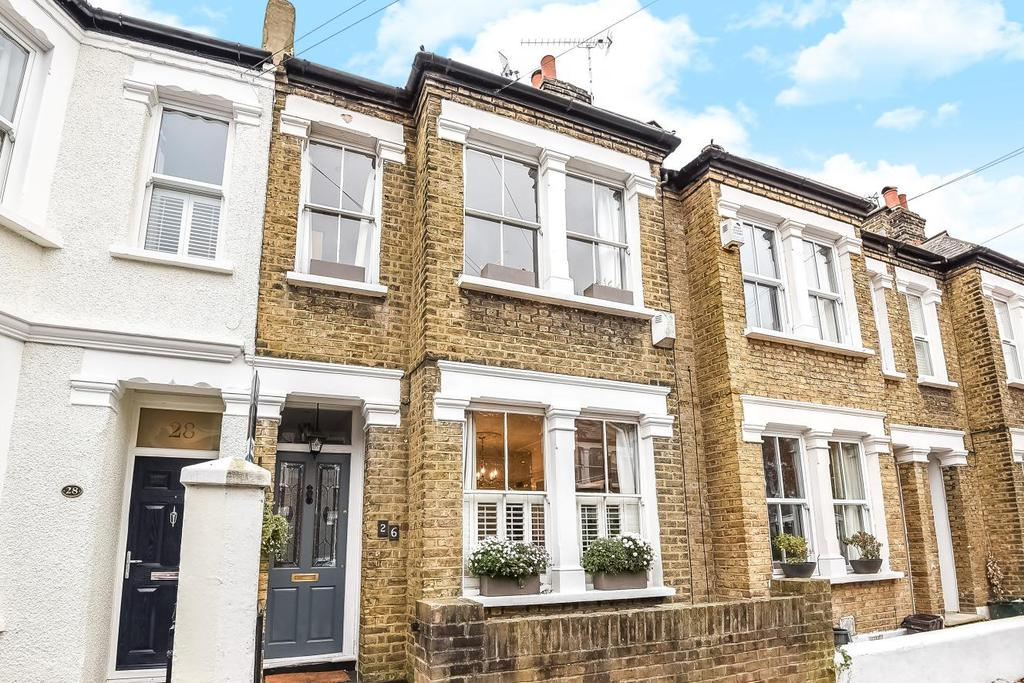 4 Bedrooms Terraced House for sale in Tennyson Road, Wimbledon, SW19