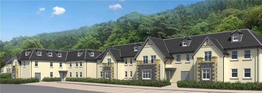 2 Bedrooms Flat for sale in Flat 32 Union Hydro Gardens, Innerleithen Road, Peebles, EH45