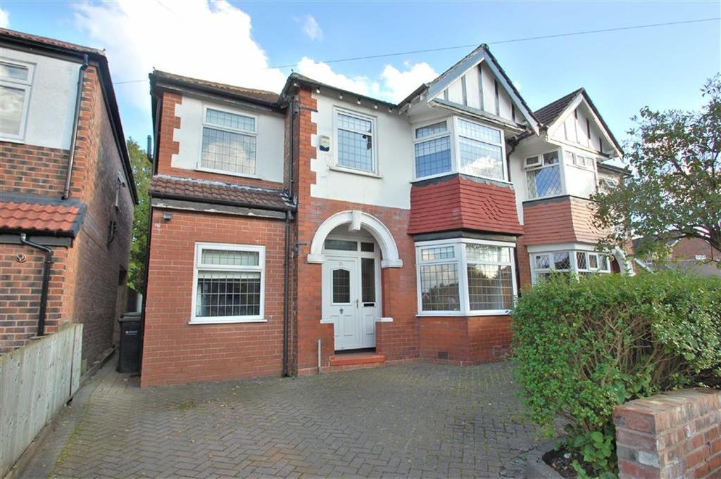 4 Bedrooms Semi Detached House for sale in Hylton Drive, Cheadle Hulme, Cheshire