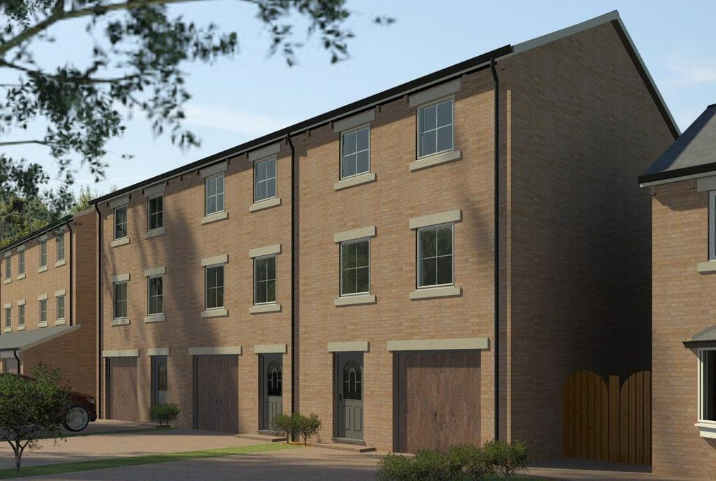 3 Bedrooms Terraced House for sale in Plot 4, Grove Lane, Hemsworth, West Yorkshire, WF9