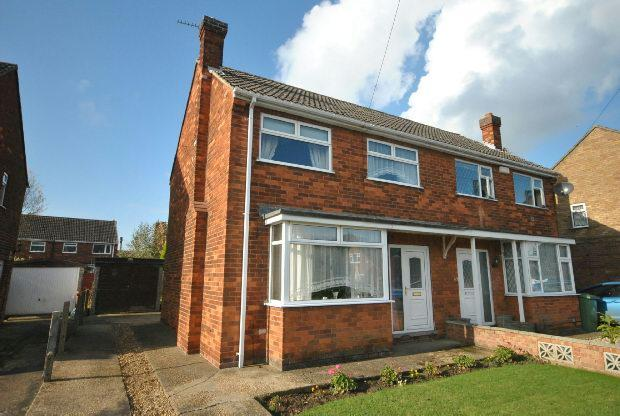 3 Bedrooms Semi Detached House for sale in Keith Crescent, Laceby, GRIMSBY