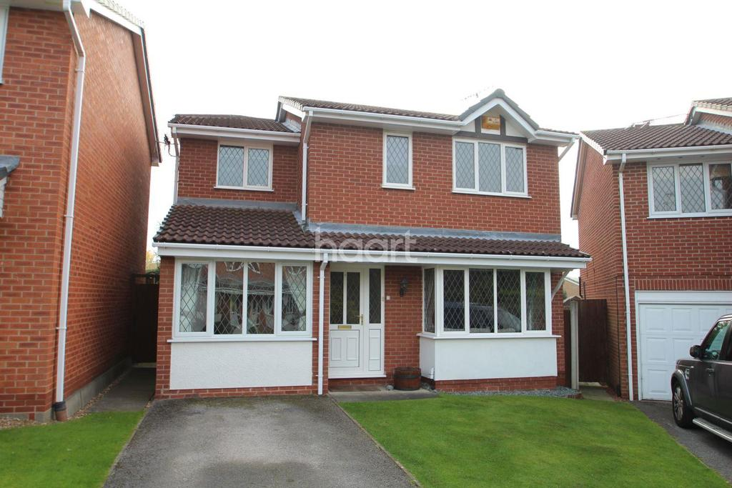 4 Bedrooms Detached House for sale in Chine Gardens, West Bridgford, Nottinghamshire