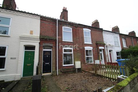 2 bedroom terraced house to rent - Wingfield Road, Norwich