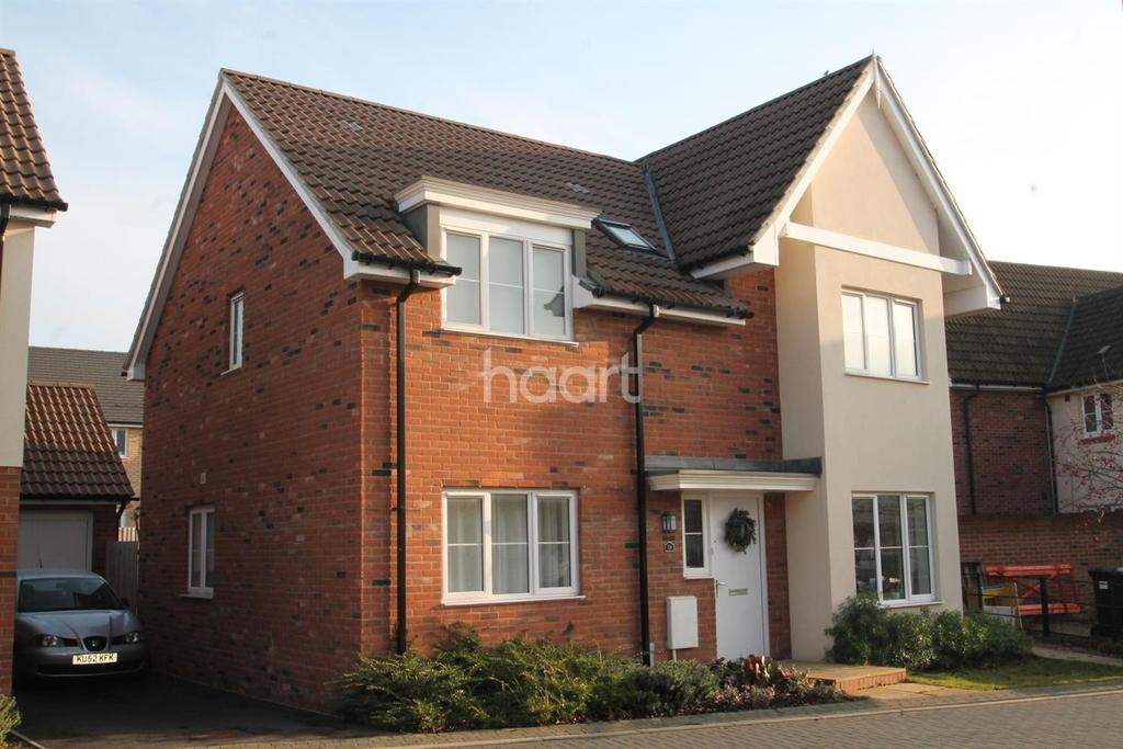 4 Bedrooms Detached House for sale in Bargroves Avenue, St Neots