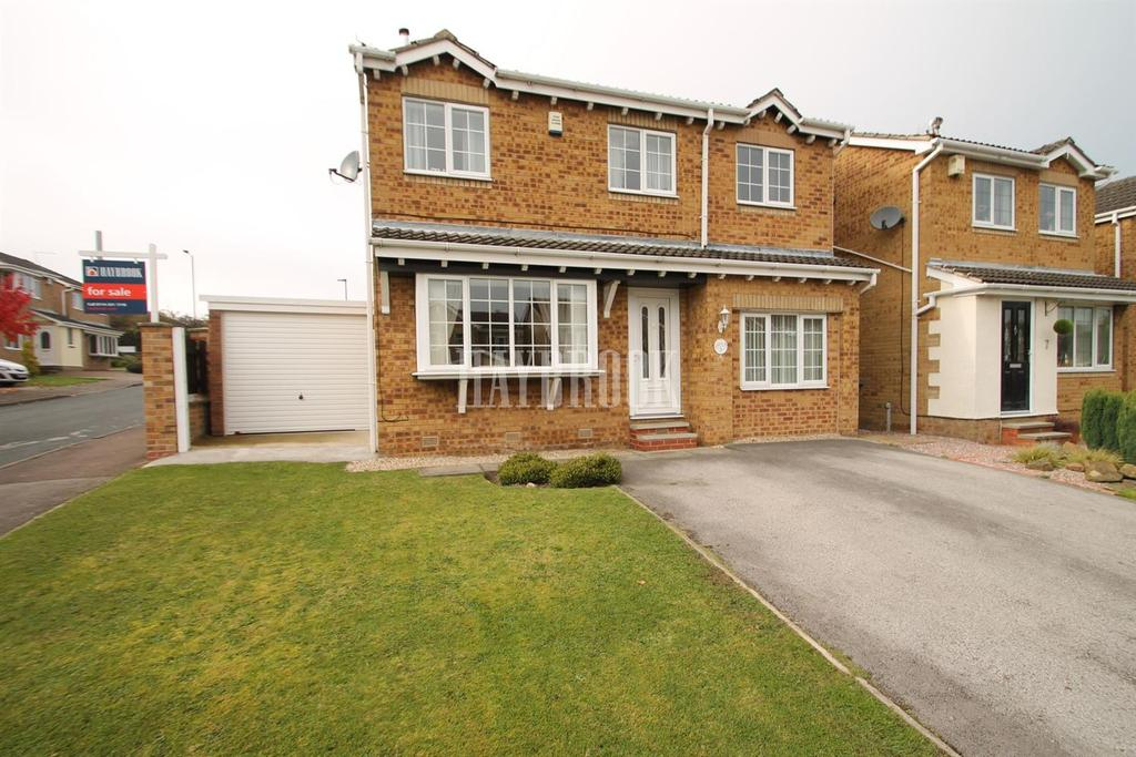 4 Bedrooms Detached House for sale in Willingham Gardens, Sothall