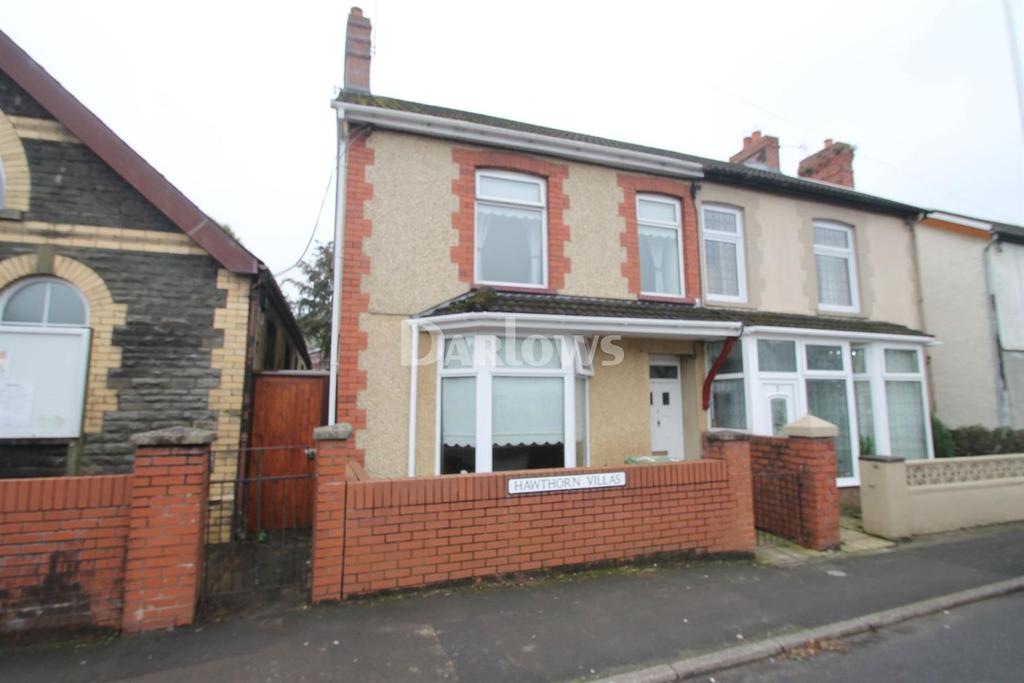 3 Bedrooms Semi Detached House for sale in Hawthorn Villas, Cardiff Road