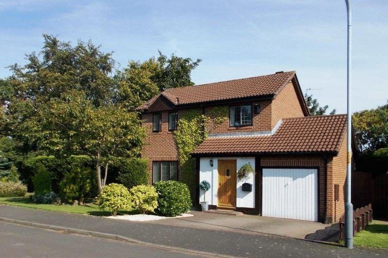 3 Bedrooms Detached House for sale in Whinham Way, Morpeth