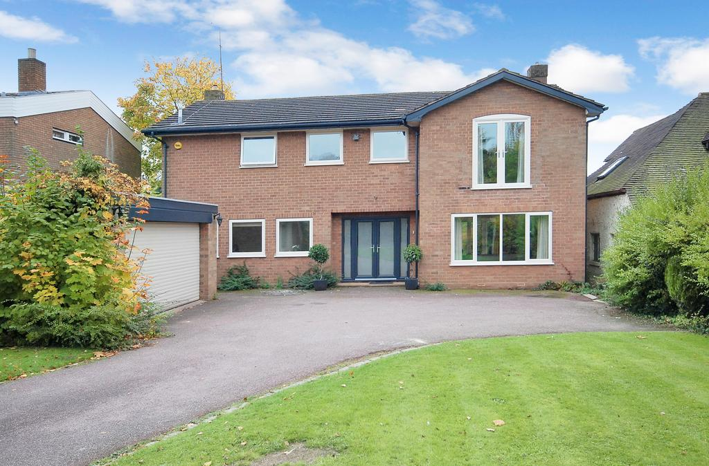 4 Bedrooms Detached House for sale in PERTON ROAD, Wightwick, Wolverhampton WV6