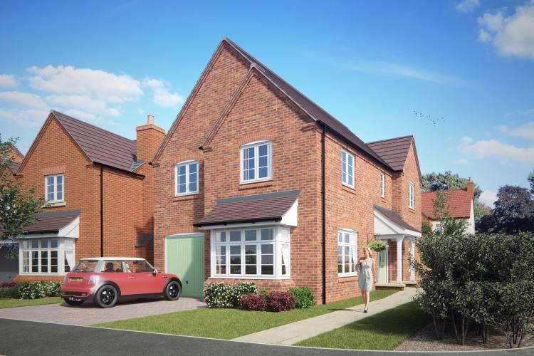4 Bedrooms Detached House for sale in 26 Barnfields, Church Aston, Newport TF10 9JJ