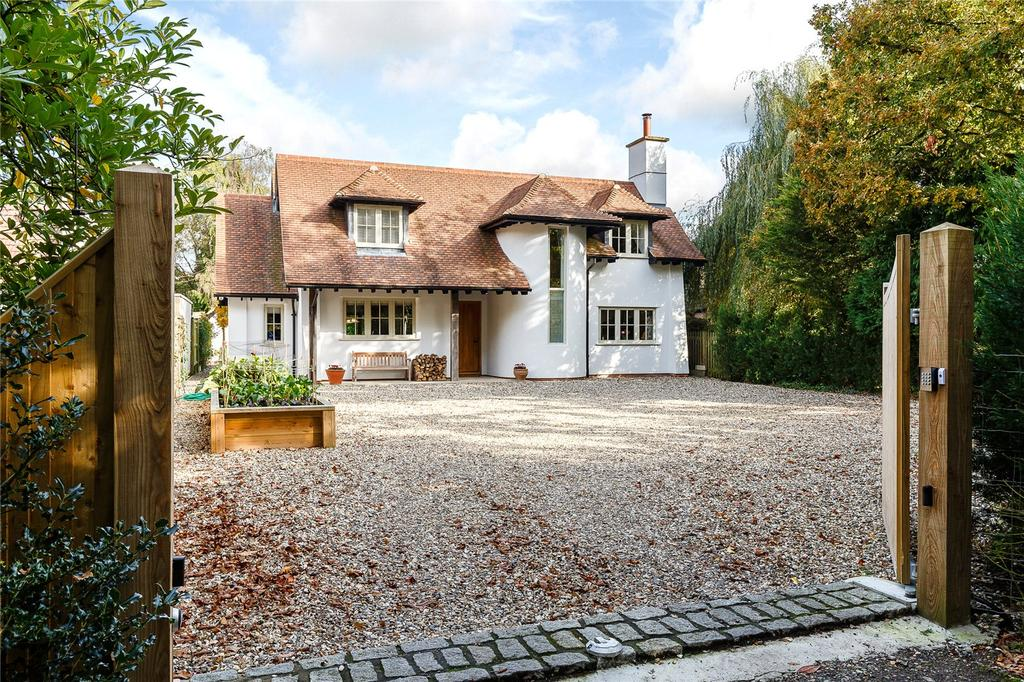 4 Bedrooms Detached House for sale in Kiln Corner, Upper Basildon, Reading, Berkshire
