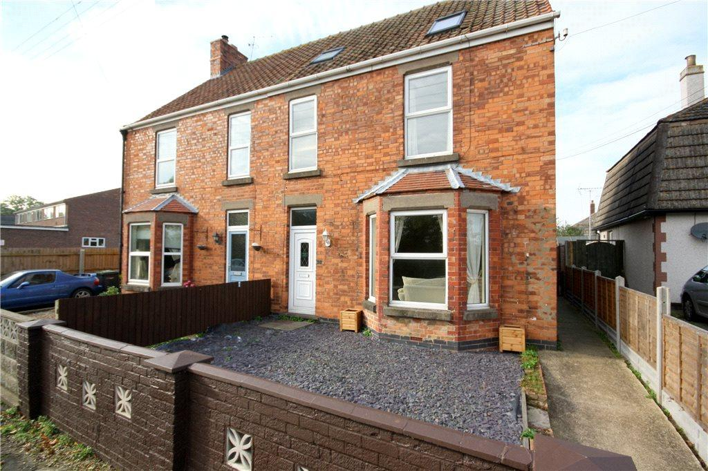 4 Bedrooms Semi Detached House for sale in School Lane, Wilsford, Grantham, Lincolnshire, NG32