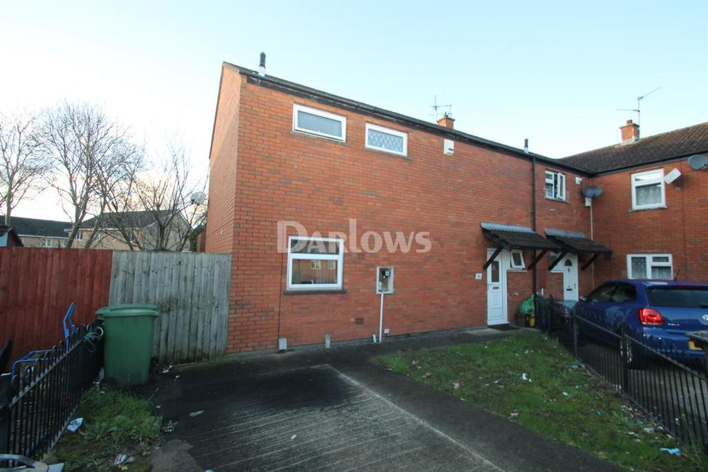 3 Bedrooms End Of Terrace House for sale in Crumlin Drive, St Mellons, Cardiff