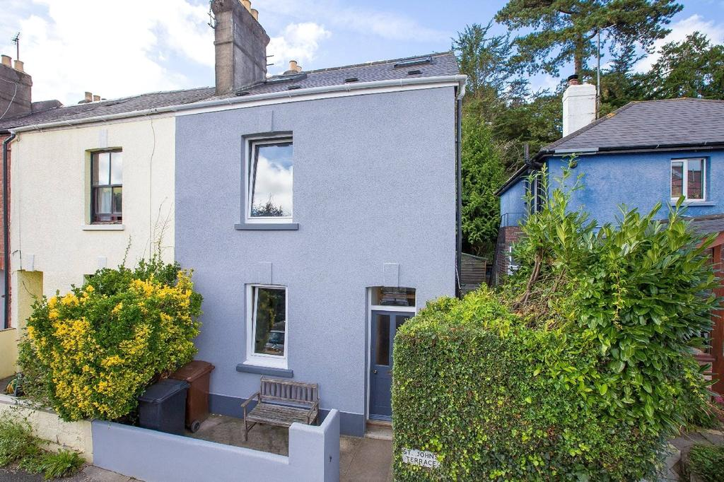 3 Bedrooms Terraced House for sale in St Johns Terrace, Totnes, Devon, TQ9