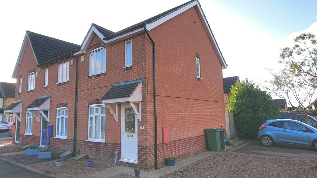 2 Bedrooms End Of Terrace House for sale in Swallow Close, Brackley