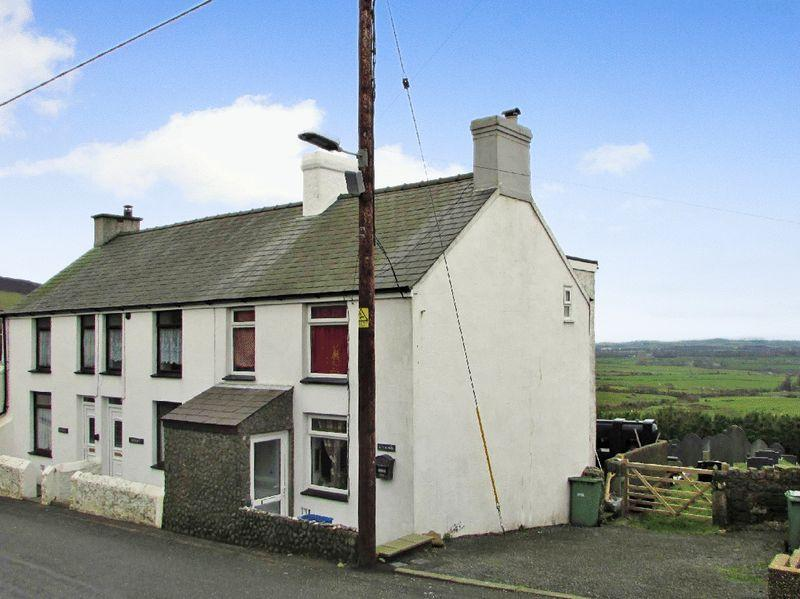 2 Bedrooms End Of Terrace House for sale in Llithfaen
