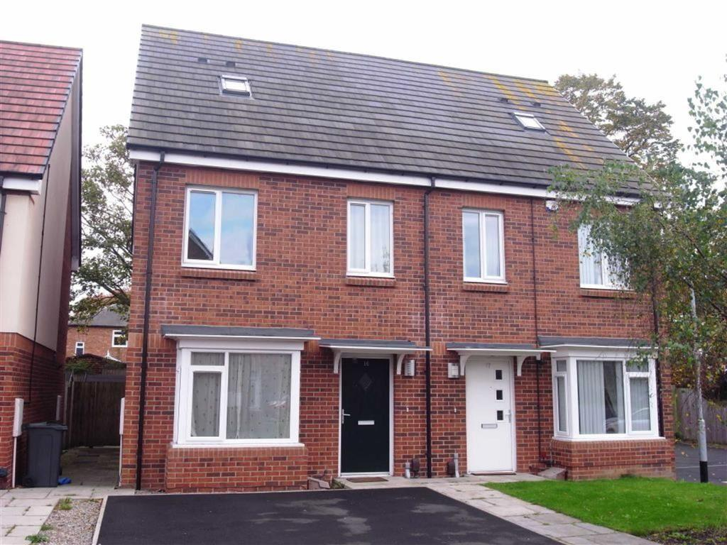 3 Bedrooms Semi Detached House for sale in Foxglove Close, Darlington