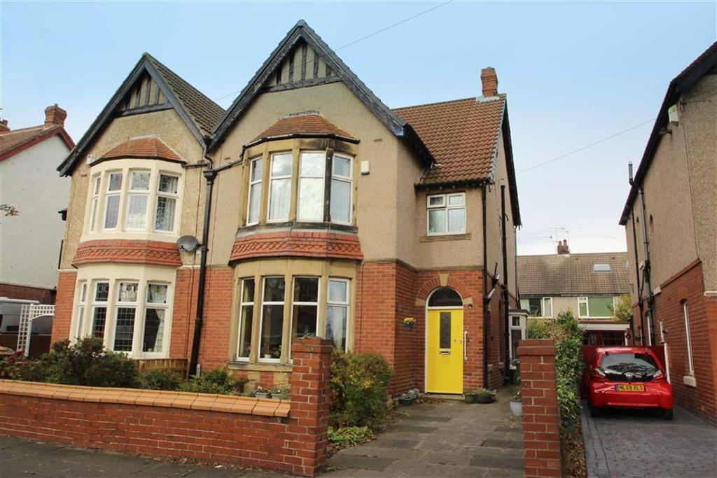 3 Bedrooms Semi Detached House for sale in Ashfield Grove, Whitley Bay, Tyne Wear, NE26
