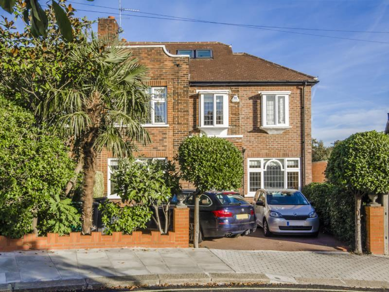 5 Bedrooms Semi Detached House for sale in Abbots Gardens, N2