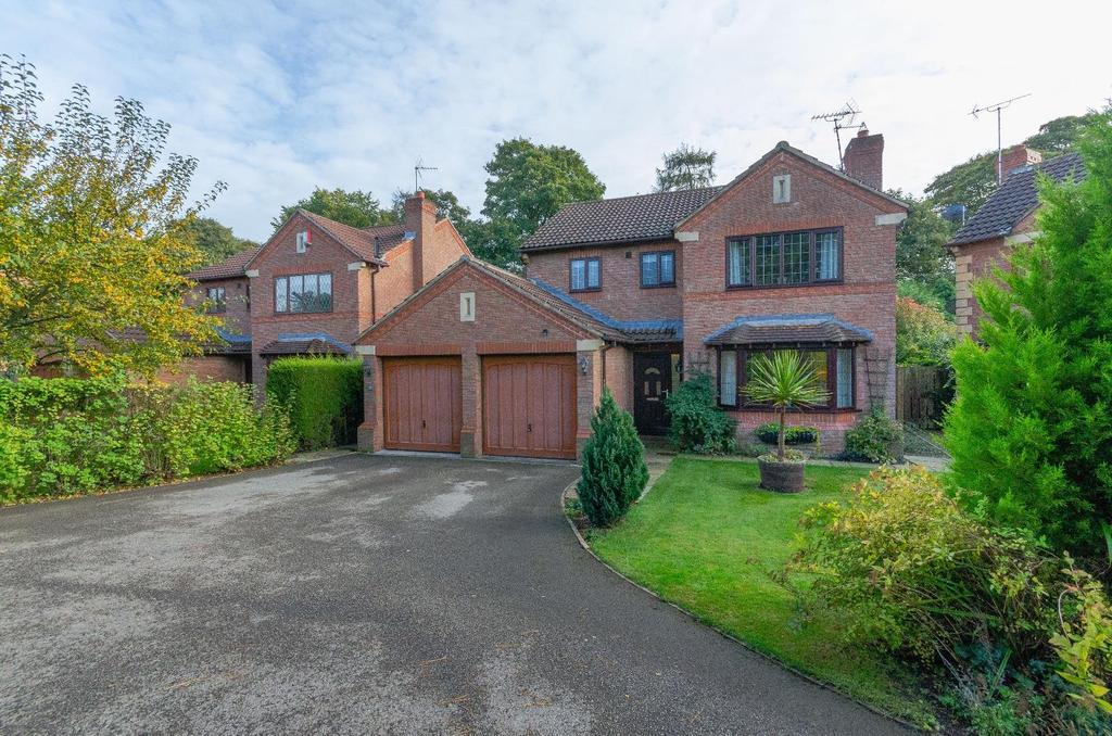 4 Bedrooms Detached House for sale in Mallard Walk, Boroughbridge, York