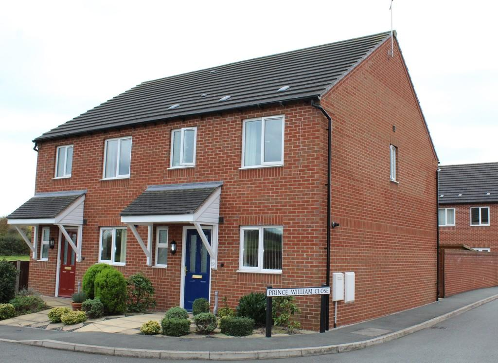 3 Bedrooms Semi Detached House for sale in Prince William Close, Whitchurch