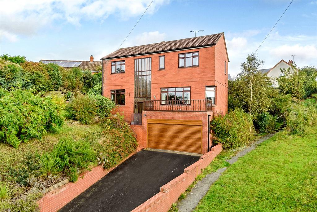 4 Bedrooms Detached House for sale in Myddle, Shrewsbury