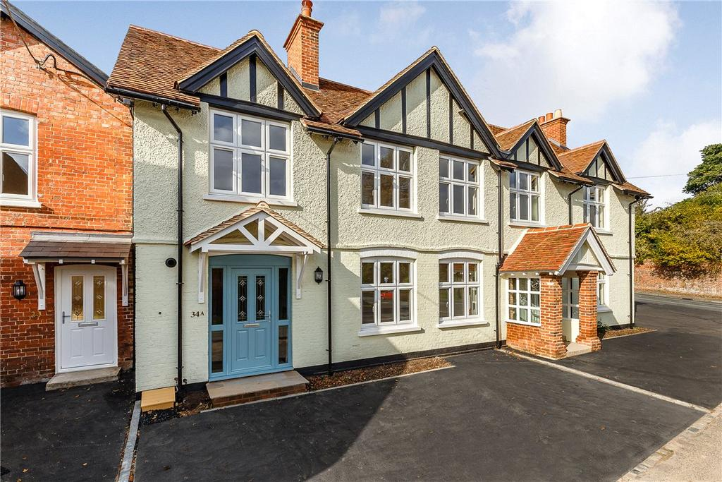 3 Bedrooms Terraced House for sale in Hurstbourne Priors, Whitchurch, Hampshire, RG28