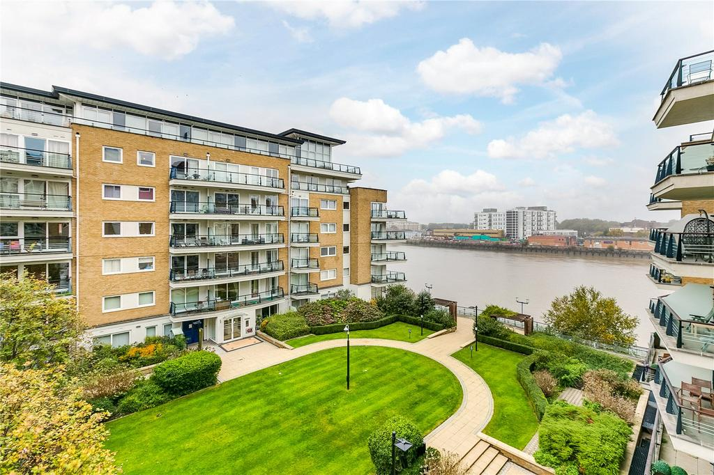 2 Bedrooms Flat for sale in Bluewater House, Smugglers Way, Wandsworth, London