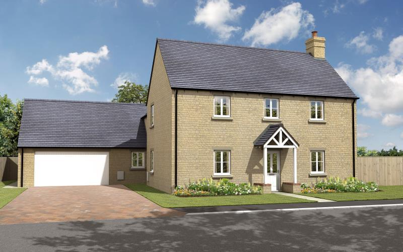 4 Bedrooms Detached House for sale in The Oak, Charity Farm, Woodstock Road, Stonesfield, Witney, Oxfordshire