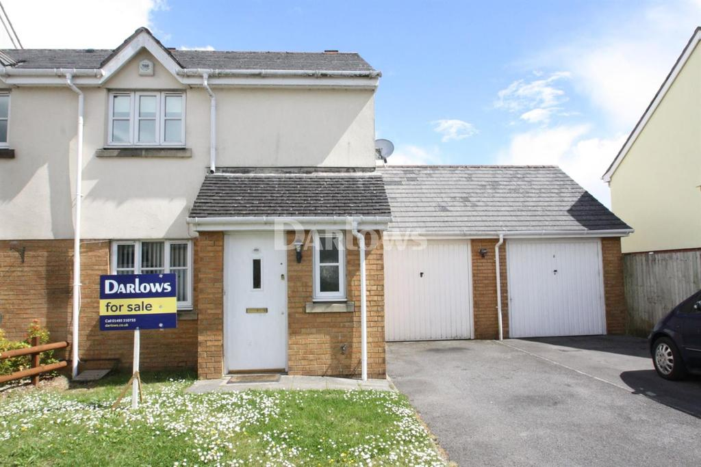 3 Bedrooms End Of Terrace House for sale in Lakeside Way, Nantyglo, Gwent