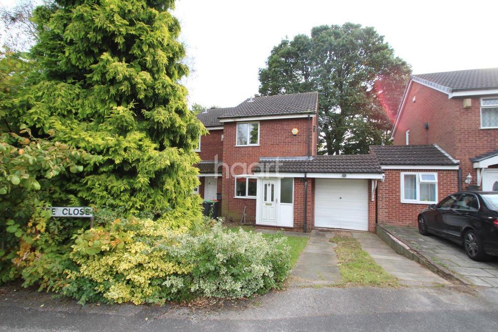 2 Bedrooms End Of Terrace House for sale in Oak Tree Close, Hucknall