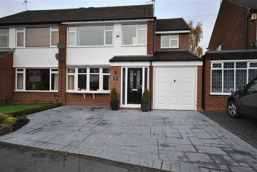 4 Bedrooms Semi Detached House for sale in VERNON ROAD, Poynton, Cheshire