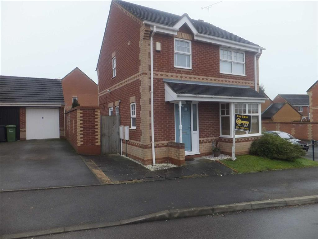 3 Bedrooms Detached House for sale in Penshurst Way, Nuneaton, Warwickshire, CV11